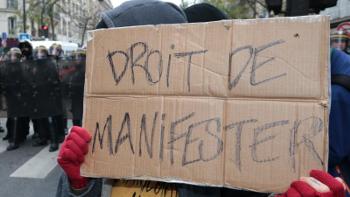 DROIT DE MANIFESTER - 104 rue romain rolland 93260